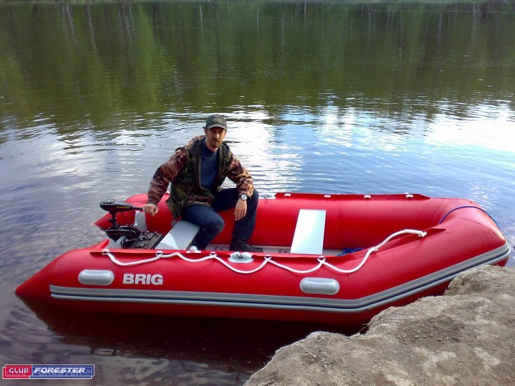 лодка бриг 350 балтика